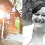 Bräutigam-Bike-Braut