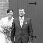 Bräutigam-Braut-Scheune