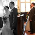 Braut-Blumen-Hochzeit