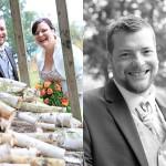 Hochzeit-Brautpaar-Blumenstrauß