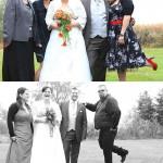 Hochzeit-Brautpaar-Trauzeugen