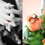 Hochzeitsfotos-Braut-Ringe