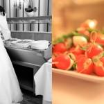 Hochzeitsfotos-Feiern-Buffet