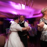 Saal-Hochzeit-Tanz