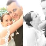 Charmed Wall-Hochzeitsfotograf-Brautpaar