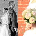 Charmed Wall-Hochzeitsfotograf-Paarbilder