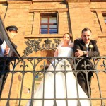 Hochzeitsfotograf-Porta Westfalica-Charmed Wall