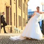 Minden-Charmed Wall-Hochzeitsfotograf