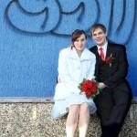 Porta Westfalica-Charmed Wall-Hochzeitsbilder