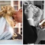Ankleiden-Braut-Styling-Frisur-