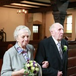 Diamantene Hochzeit-Fotostudio-Kirchenbilder