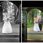 Fotograf-Charmed Wall-Brauteinmarsch