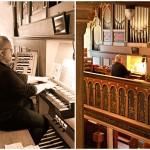 Fotograf-Charmed Wall-Kirchenorgel