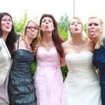 Marc Lehwald-Charmed Wall-Hochzeitsgaeste